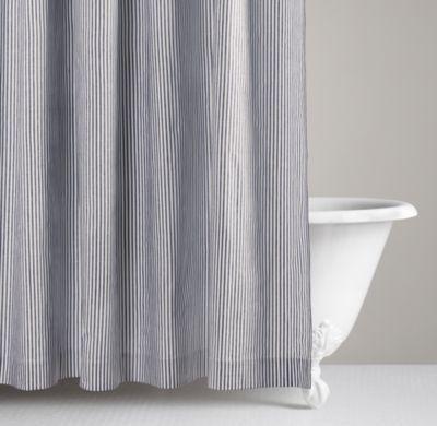 Perfect Henley Stripe Shower Curtain | Shower Curtains | Restoration Hardware Baby  U0026 Child