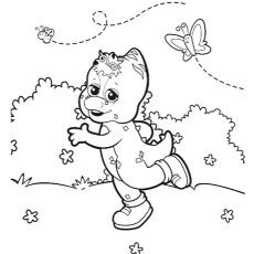 Top 10 Free Printable Barney Coloring Pages Online Coloring Pages Barney Party Barney Friends
