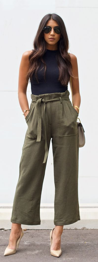 The Top Blogger Looks Of The Week #fashion Not Your Standard Hogh Utility Outfit Idea women fashion outfit clothing stylish apparel @roressclothes closet ideas #latestfashionforwomen