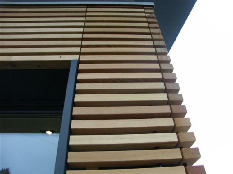 Revestimientos de fachadas de madera revestimientos - Recubrimientos para fachadas ...