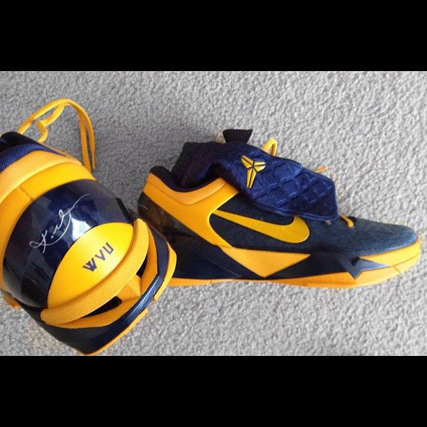 basketball shoes just arrived WVU style