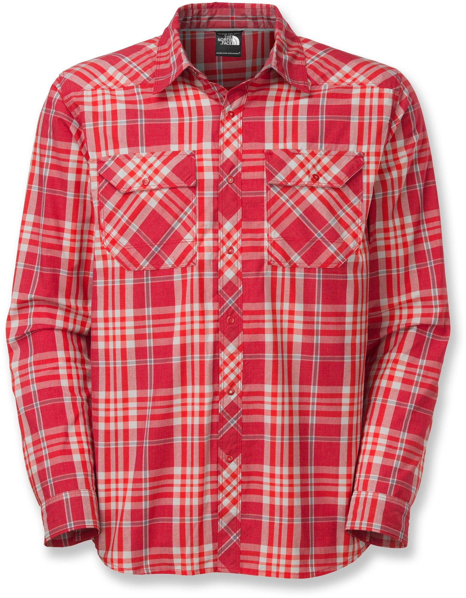 The North Face Male Orangahang Shirt Men s  9eae4d0ce36