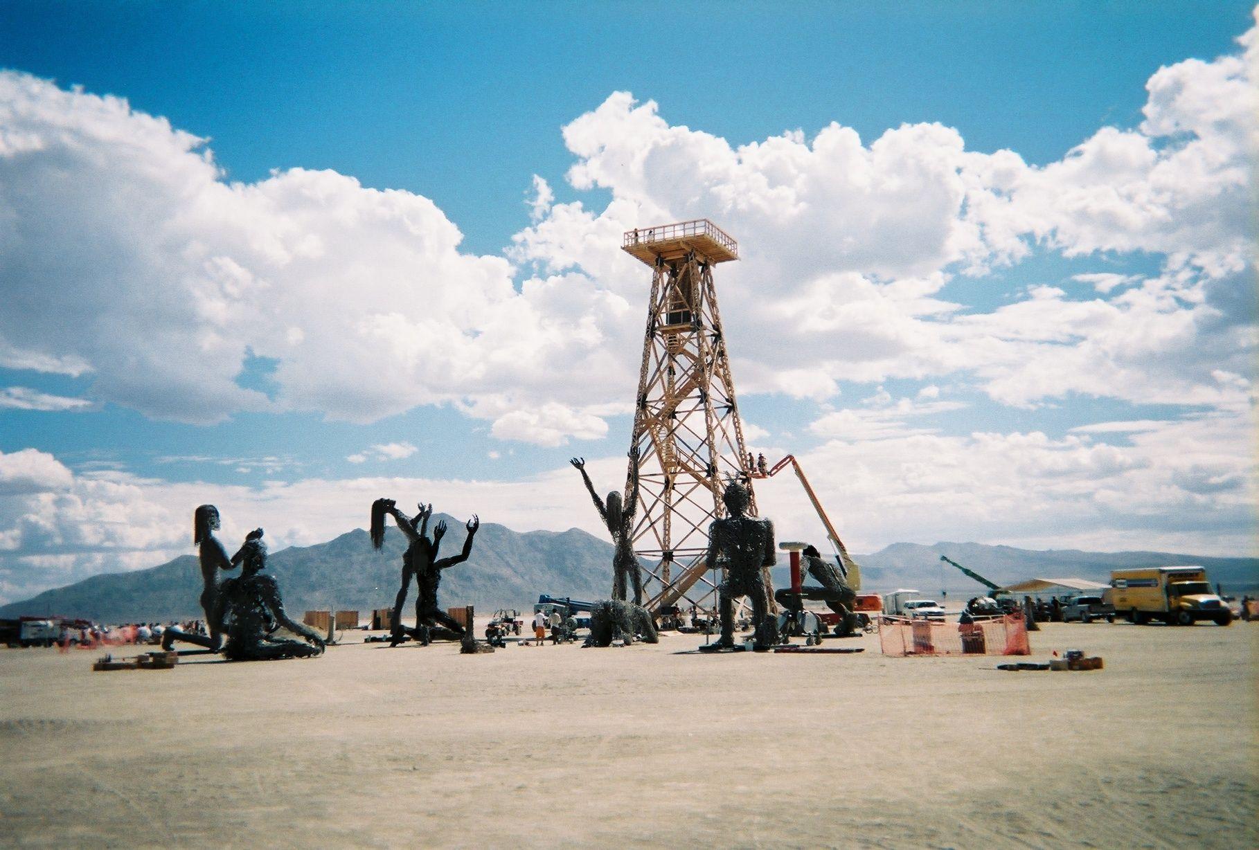 Art Burning Man Black Rock City Nevada