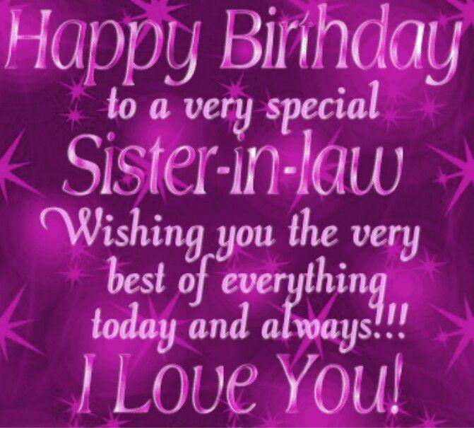 Happy Birthday Sister In Law Happy Birthday Sis Birthday