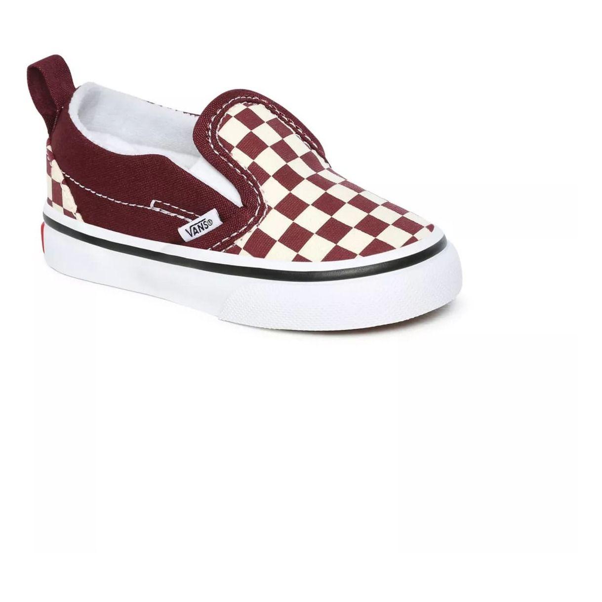 Sneakers Burgundy Vans Shoes Baby