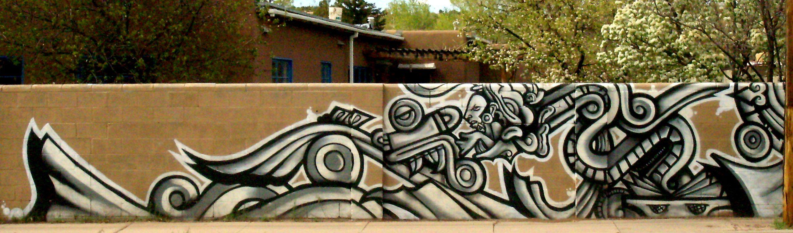 Aztec mayan graffiti dissertation pinterest graffiti for Aztec mural painting