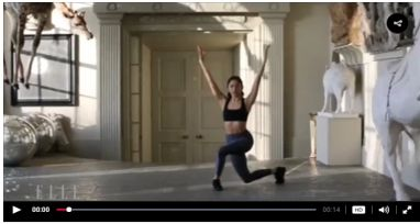 The 5 Move Model Workout Fitness Models Curtsy Lunge Lunges