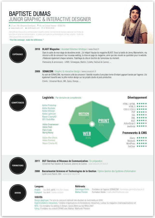curriculum vitae   CVs   Pinterest   Cv ideas