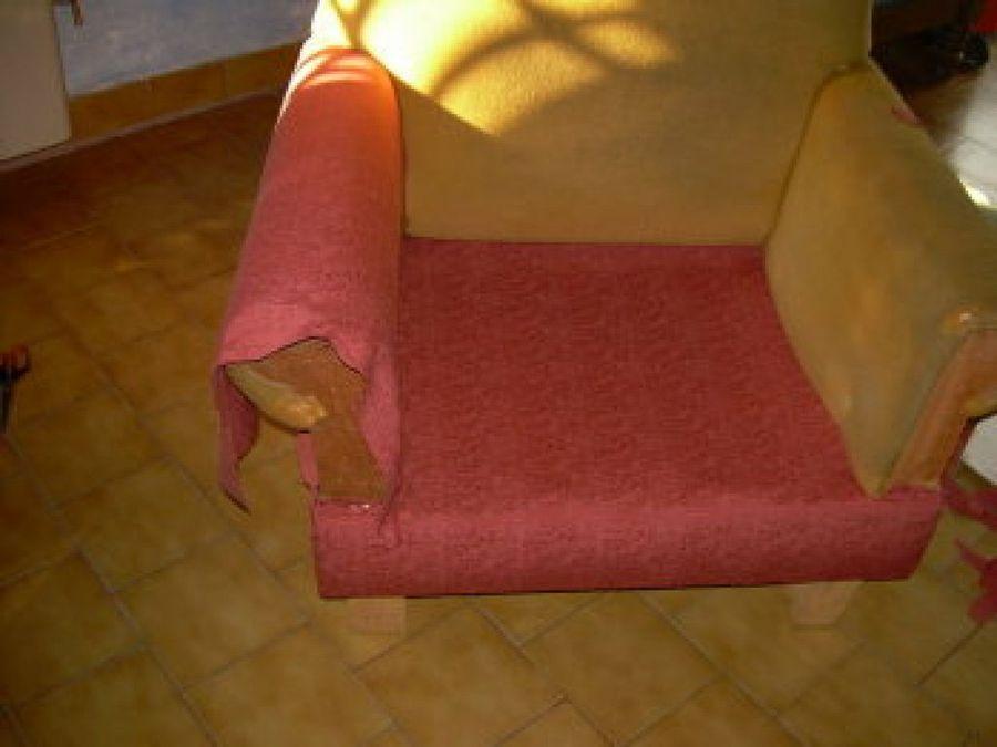 Todos los pasos que debes seguir para cambiar el tapizado - Como tapizar un sillon ...