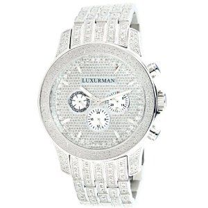iced out watches luxurman mens diamond watch 1 25ct list price iced out watches luxurman mens diamond watch 1 25ct list price 2 350 00 price 399 00