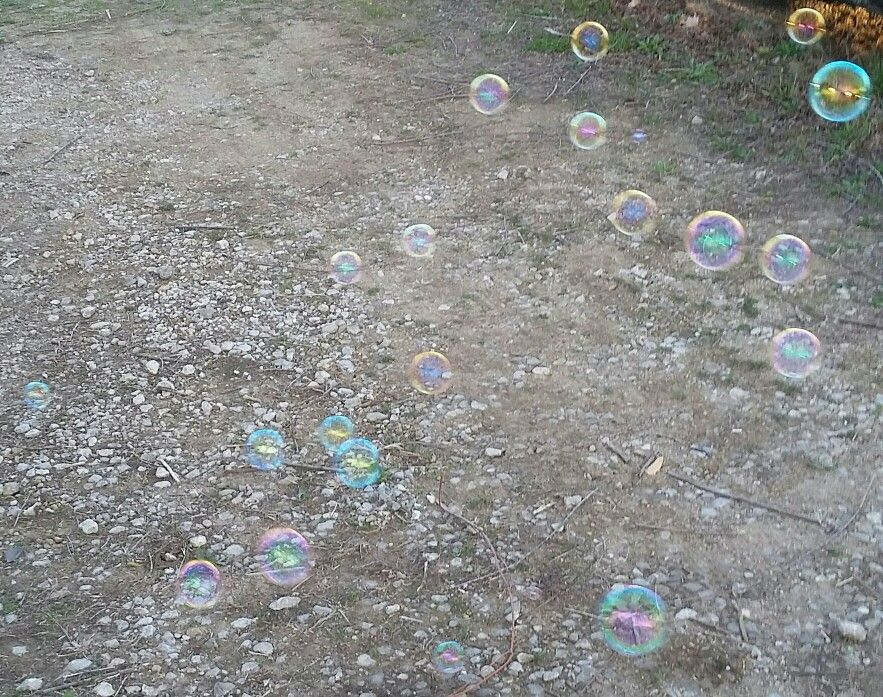 Lots of bubble