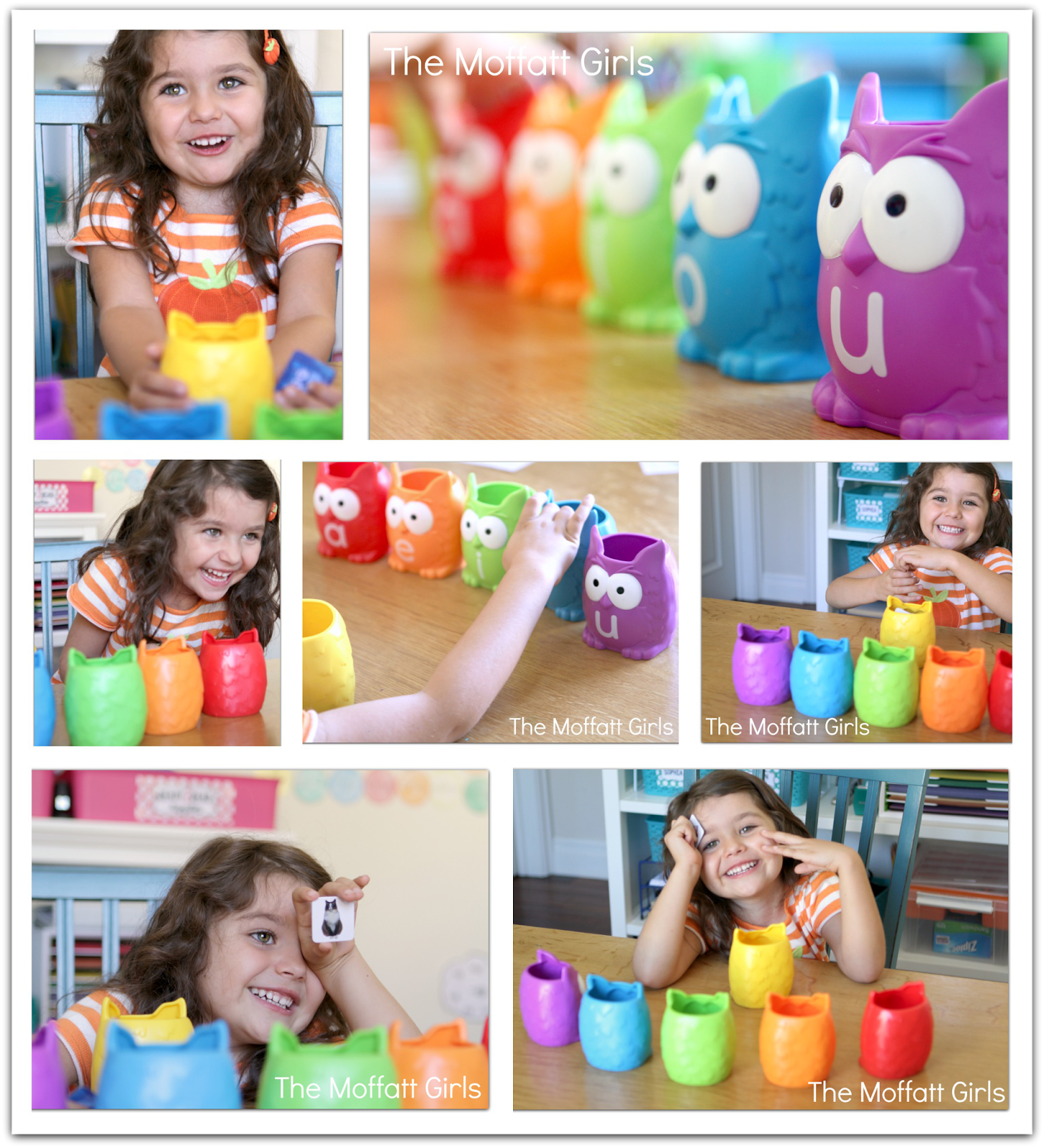 Vowel Owls Giveaway With Images
