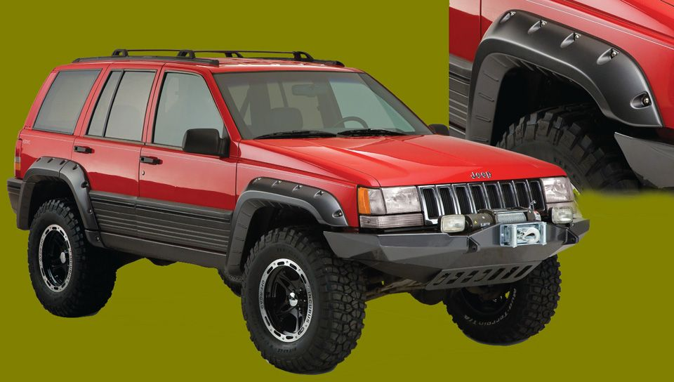 Bushwacker Fender Flares For Jeep Grand Cherokee Jeep Grand
