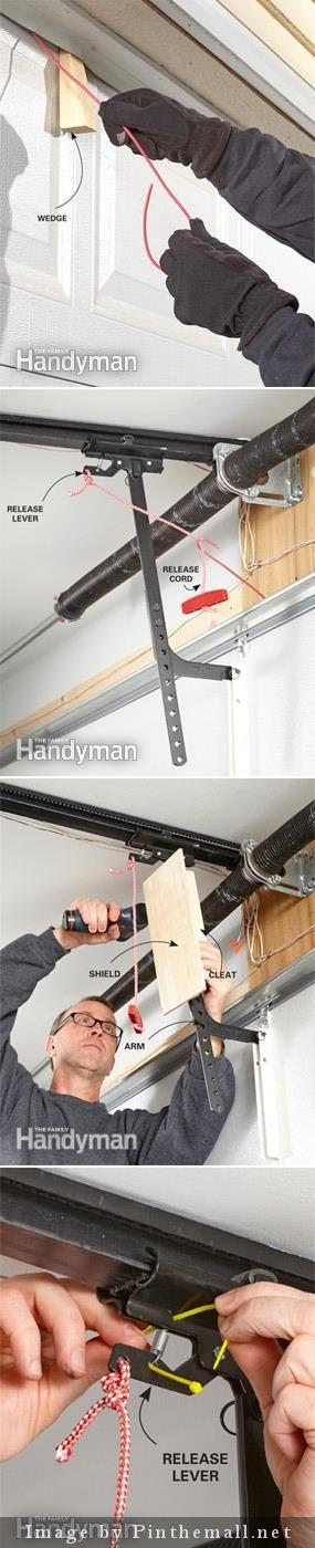 Garage Security Tips Pinterest Overhead Garage Door Garage Door
