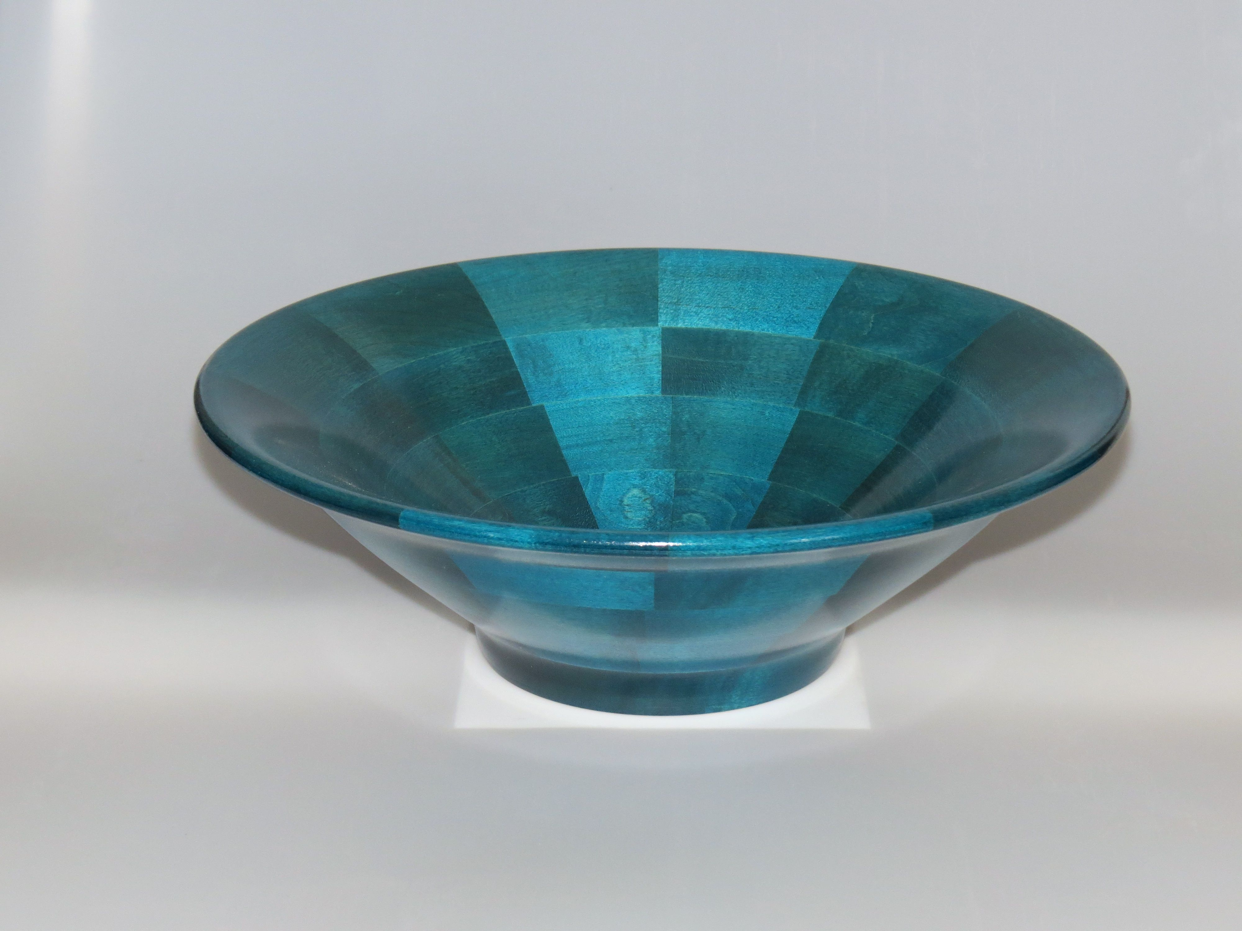 Dyed Maple Salad/Fruit bowl #107