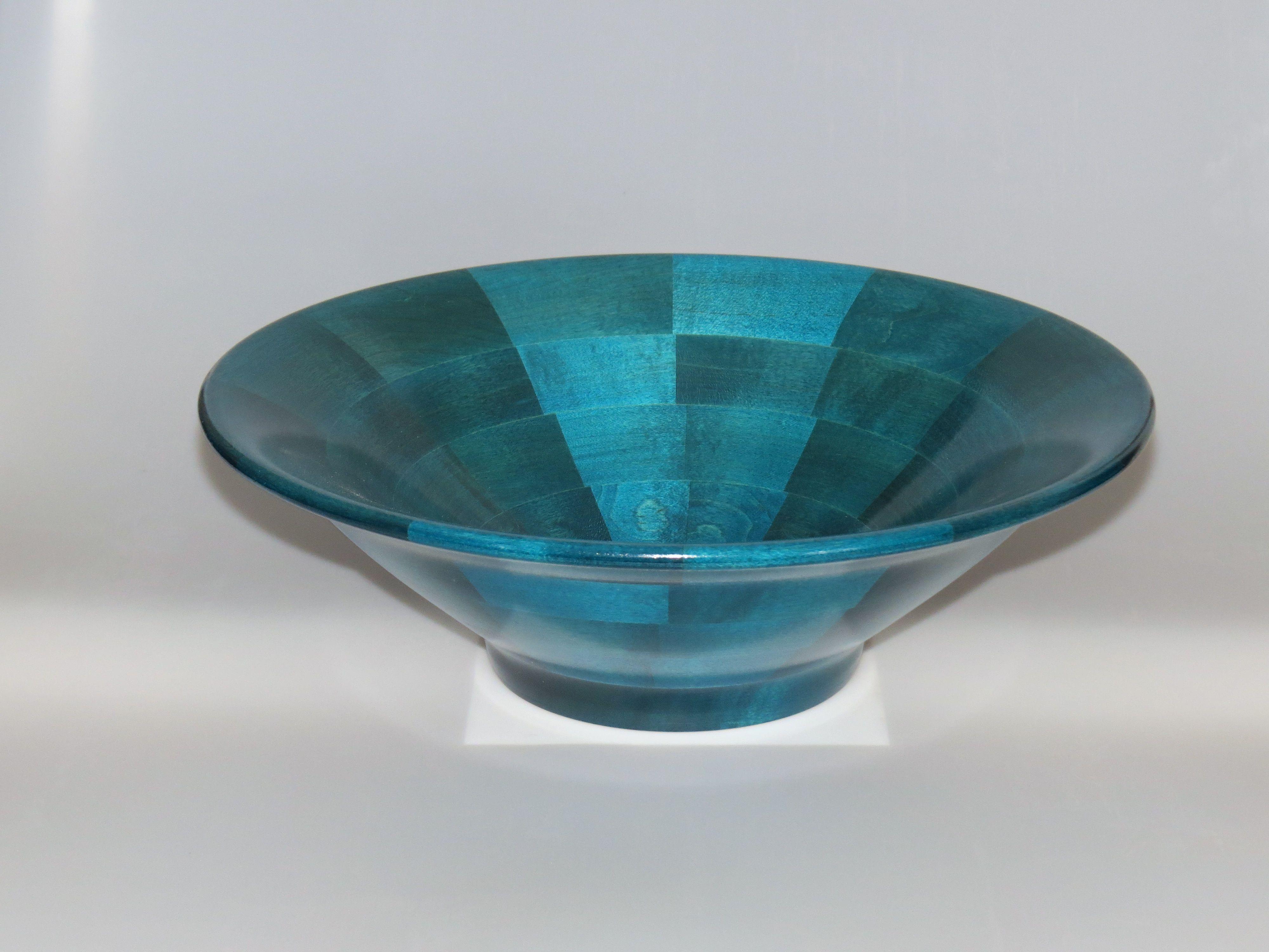 Dyed Maple Salad/Fruit bowl #107