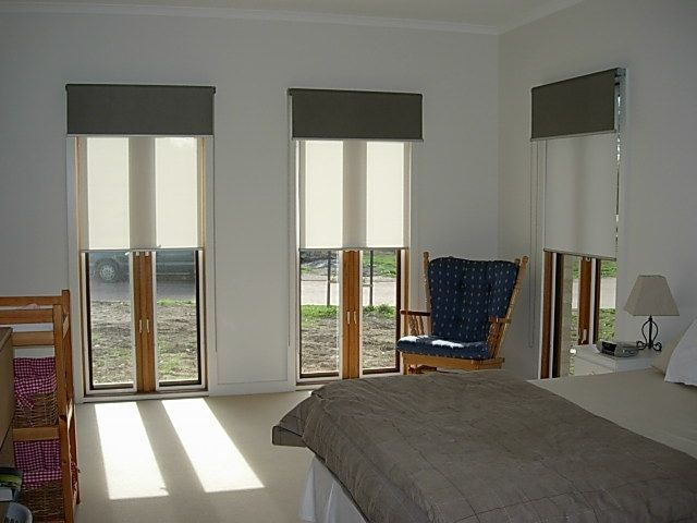 Double Roller Shades : Double roller blinds curtains windows pinterest