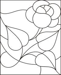 Dibujos Para Vitrales Gratis Az Dibujos Para Colorear Stained Glass Quilt Stained Glass Patterns Glass Painting