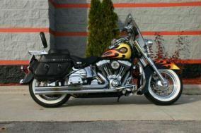 2002 Heritage Softail® Classic  - FLSTC  $12,499  39,203 miles  Harley Custom Flame  Heritage Softail Classic
