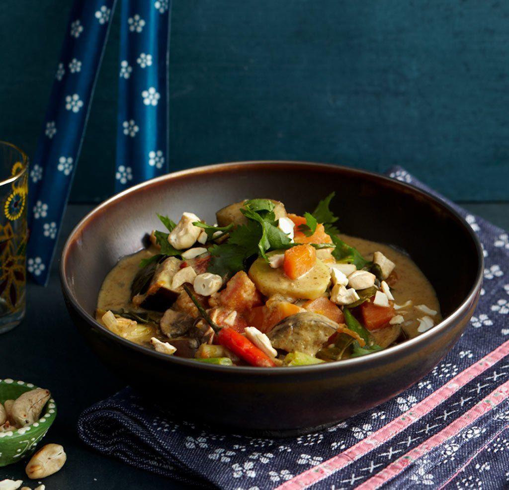 Grünes Gemüse-Curry Rezept - ESSEN & TRINKEN