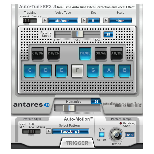 Antares Auto-Tune EFX 3 Pitch Correction Software [Download