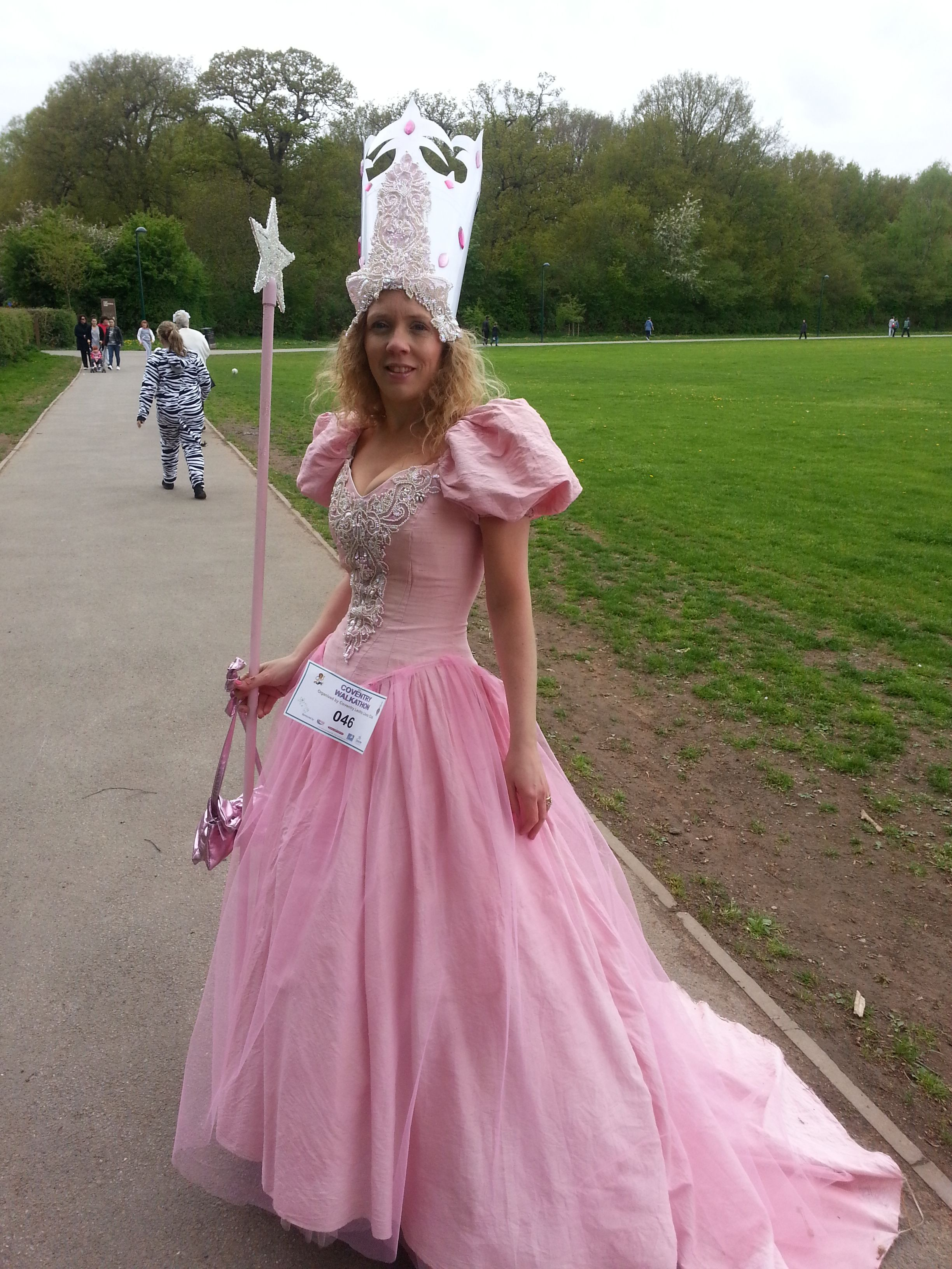 Glinda The Good Witch ( Home made from an old wedding dress and ...
