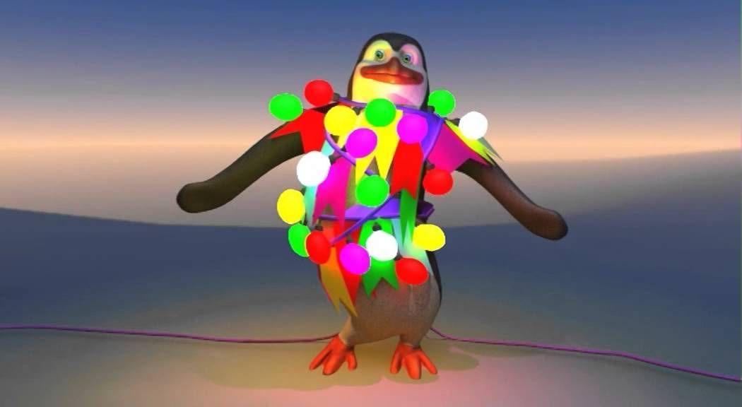 Pinguin Tanz - Deutsch