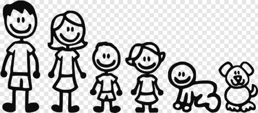 Stick Family My Family Stick Figures Hd Png Download Stick Family Stick Figures Stick Figure Family