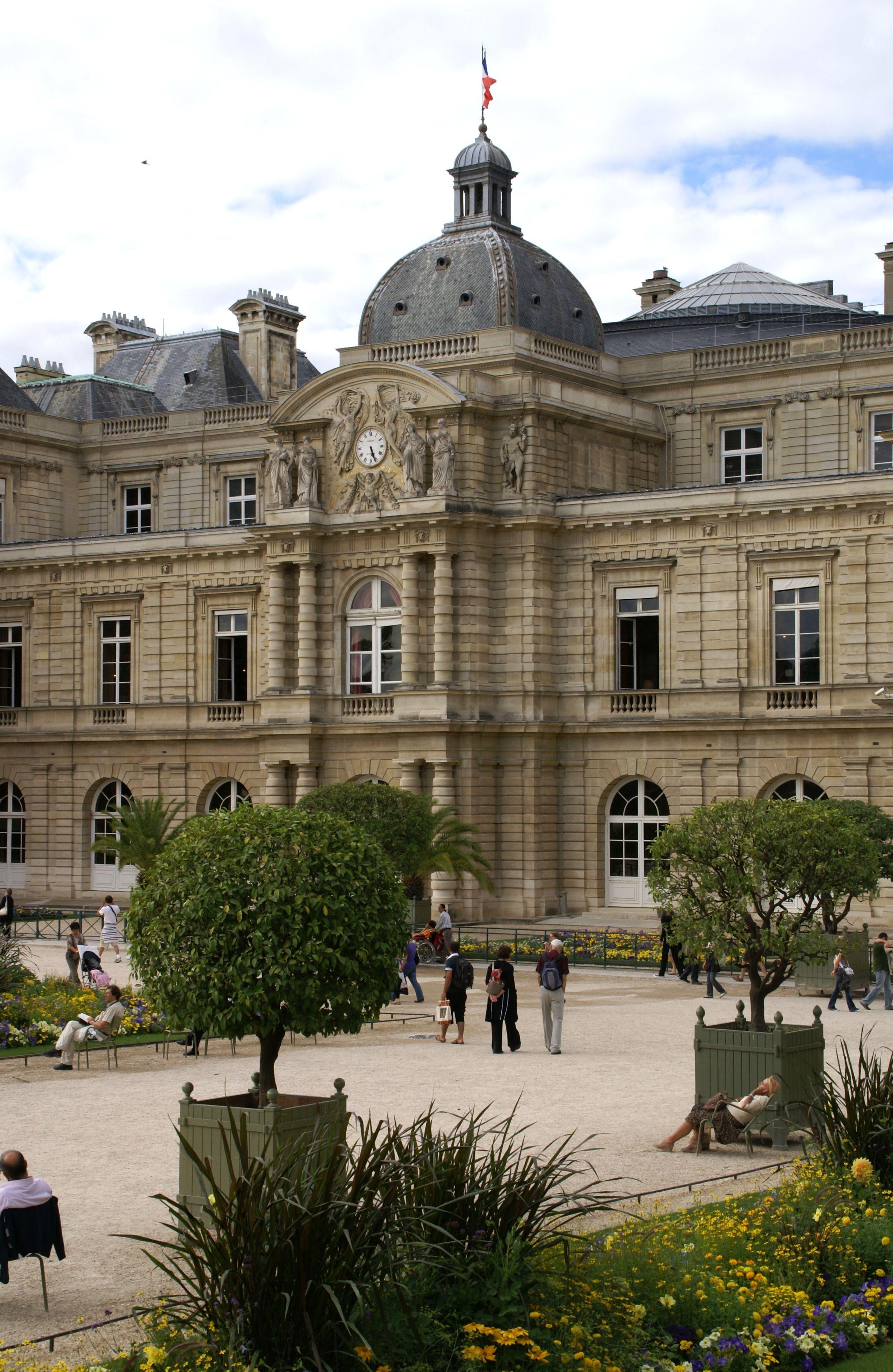 All Sizes Paris Jardin Du Luxembourg Palais Du Luxembourg