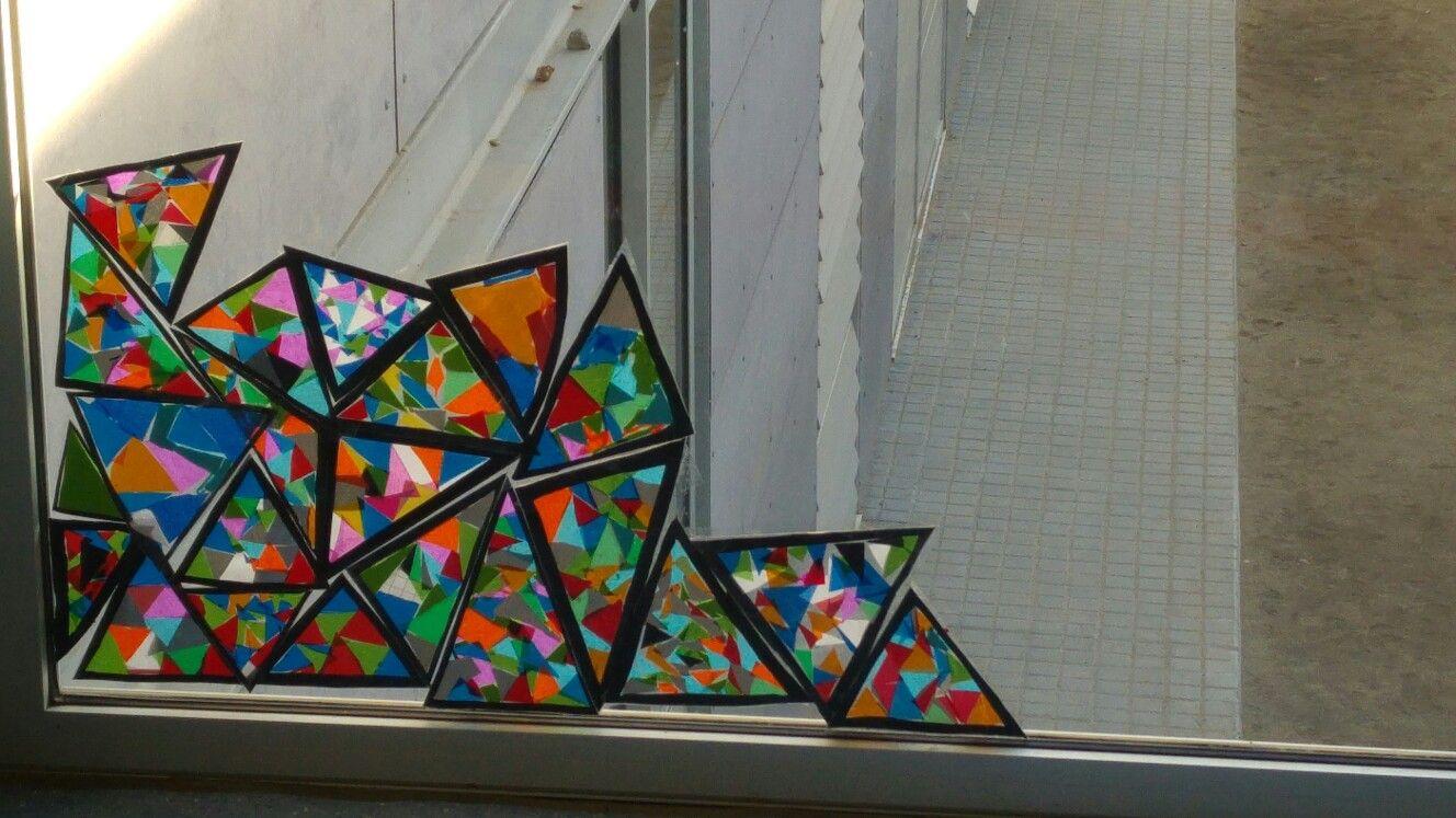Triangles mosaic