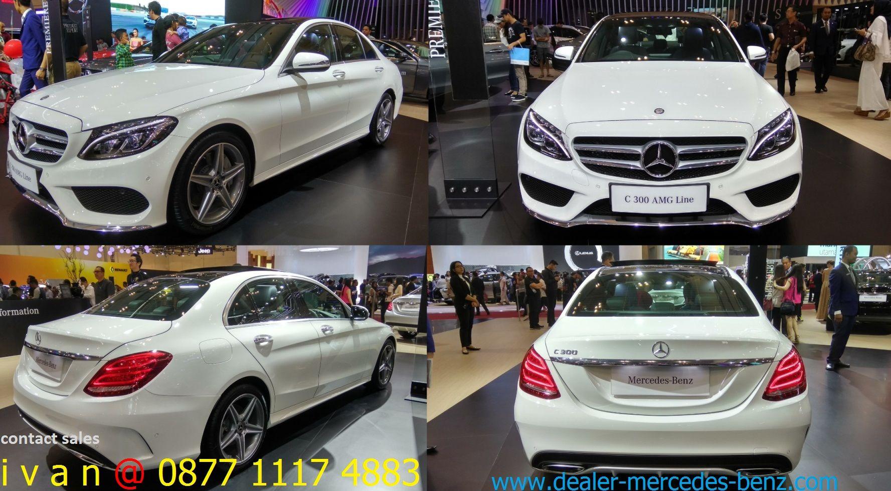 C Class C300 Amg Line 2017 Polar White Dealer Mercedes Benz