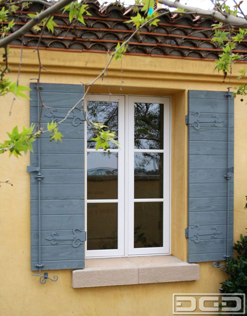 French Exterior Shutters Door Decorative Designer