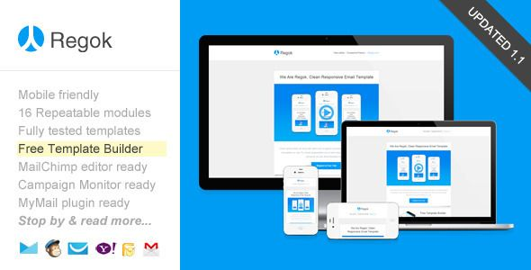 Review Regok, Responsive Newsletter with Template Builderwe are given they also recommend where is the best to buy