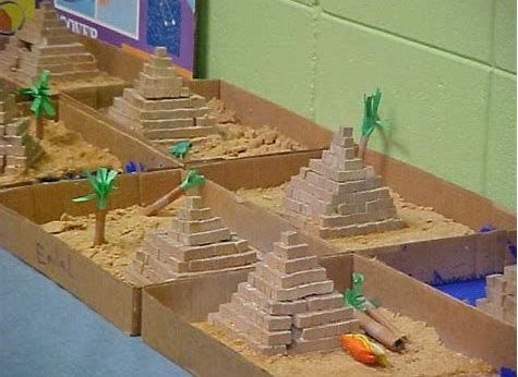 Image Result For School Project Ideas Egyptian Pyramids Piramide
