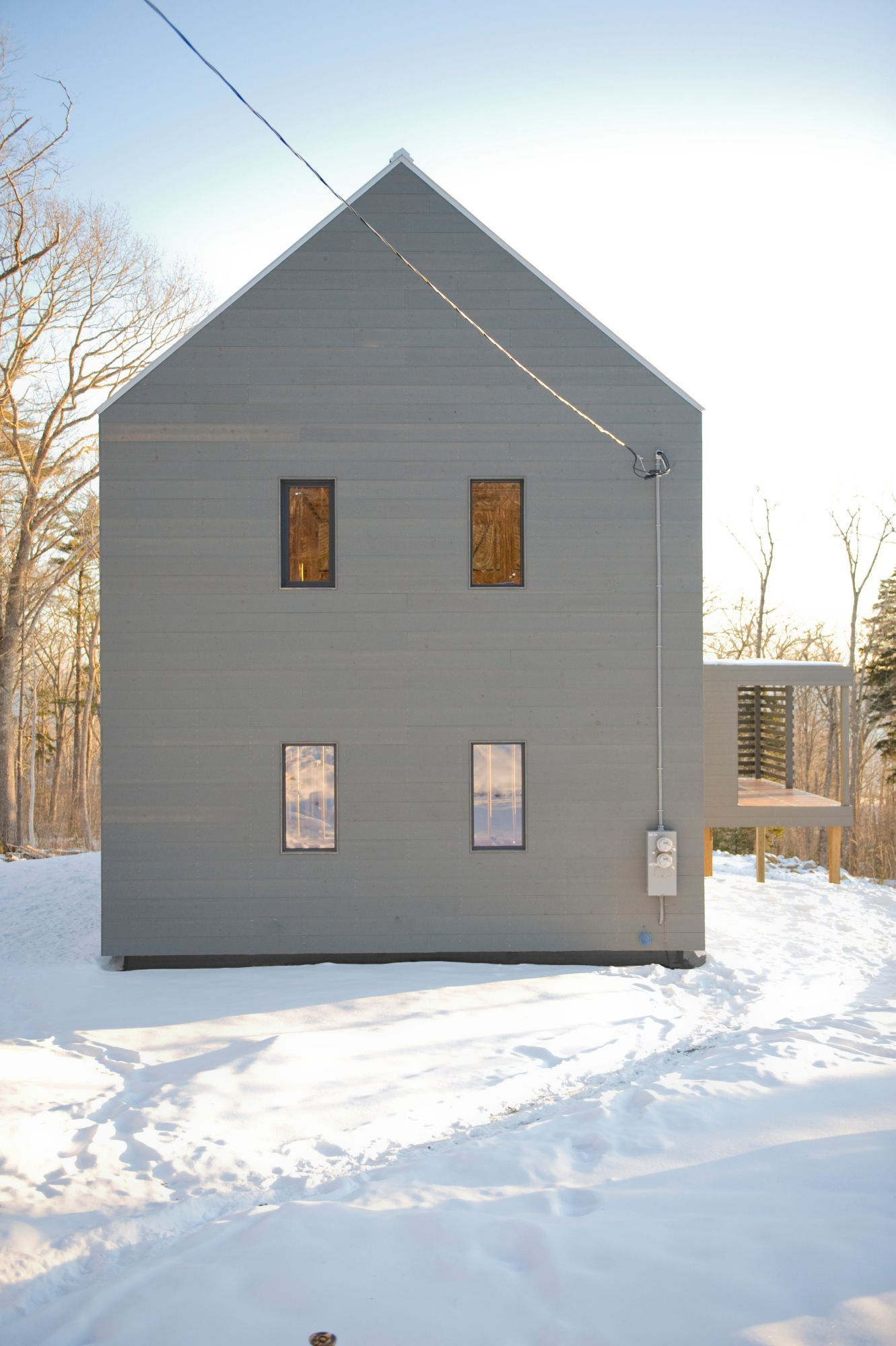 Bayside Completed Projects EcoCor LLC Maine Passive House - Home design consultation