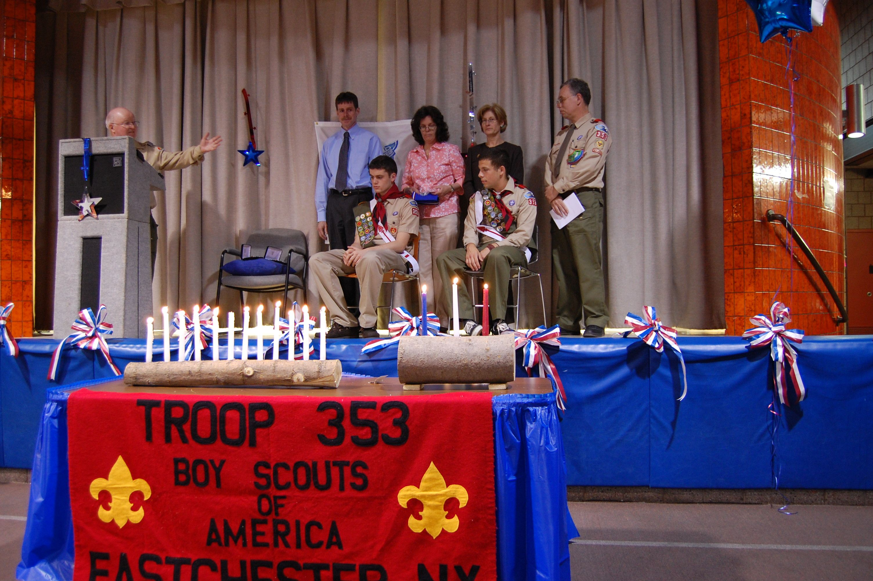Flag Ceremony at Eagle Court of Honor - YouTube