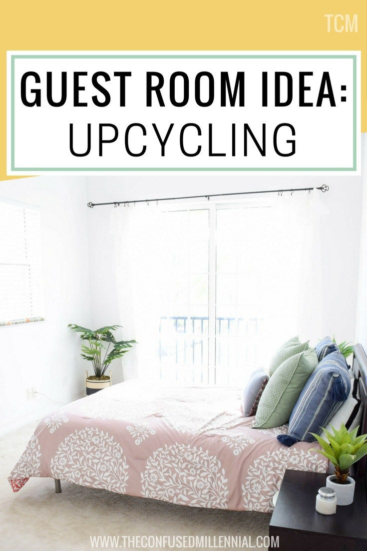 guest room ideas upcycling the confused millennial furniture rh pinterest com