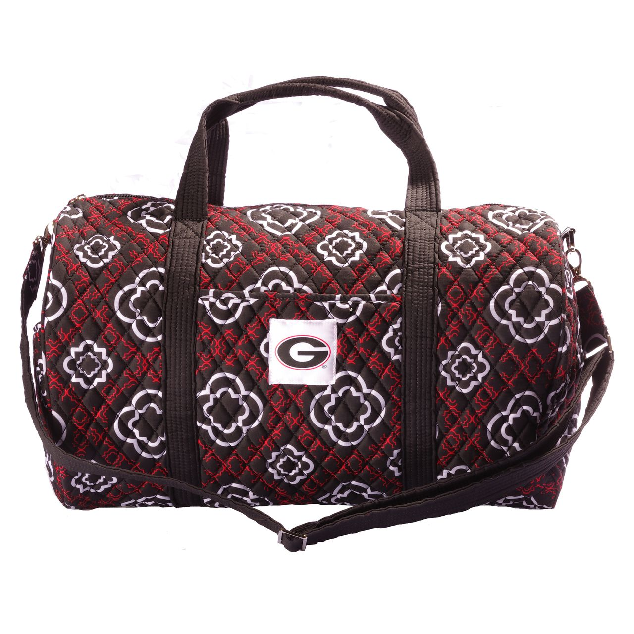 Bulldogs quilted duffle the honour society