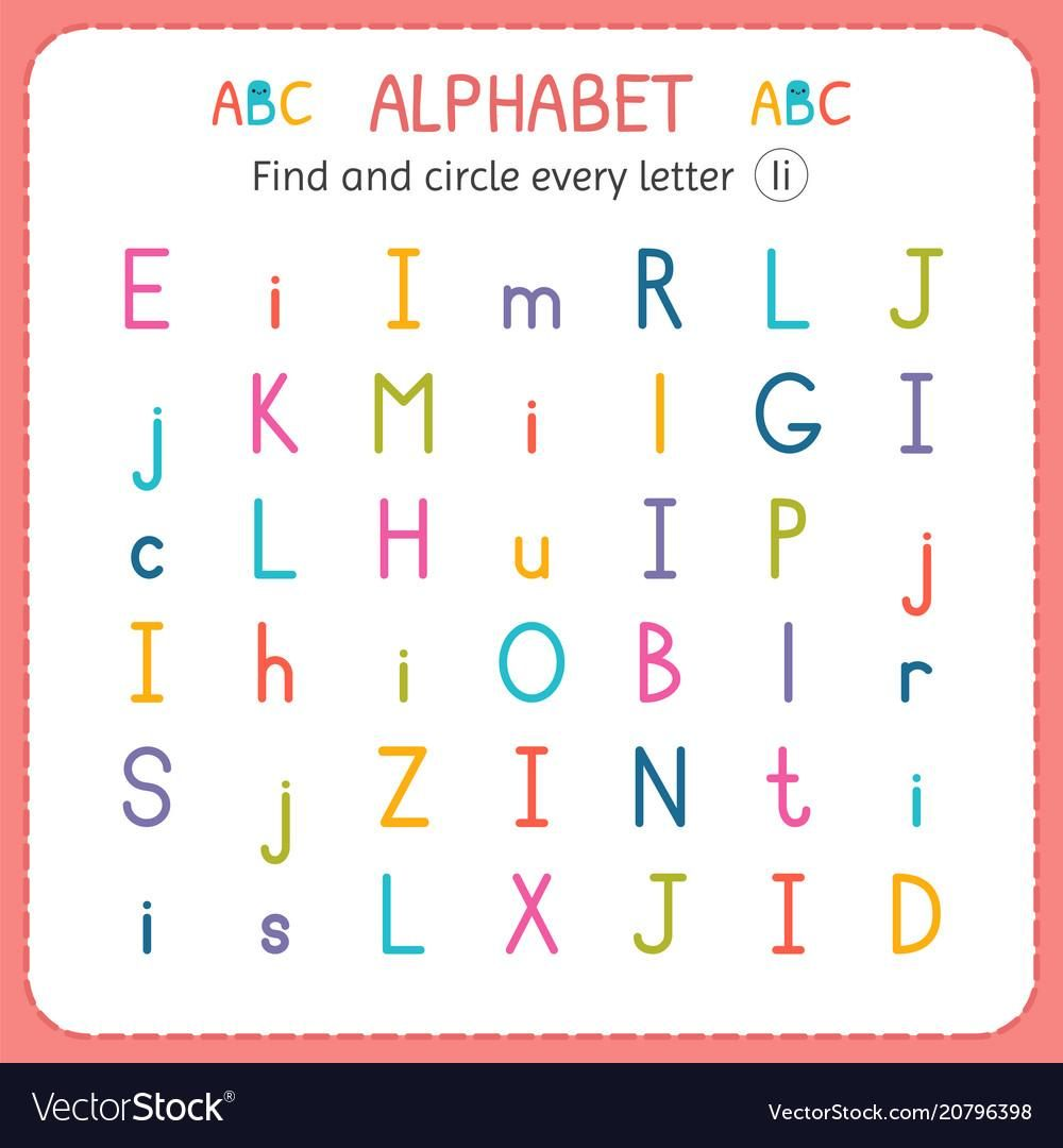 51 Find And Circle The Letter Worksheets Letter I Worksheet Letter B Worksheets Letter H Worksheets [ 1080 x 1000 Pixel ]