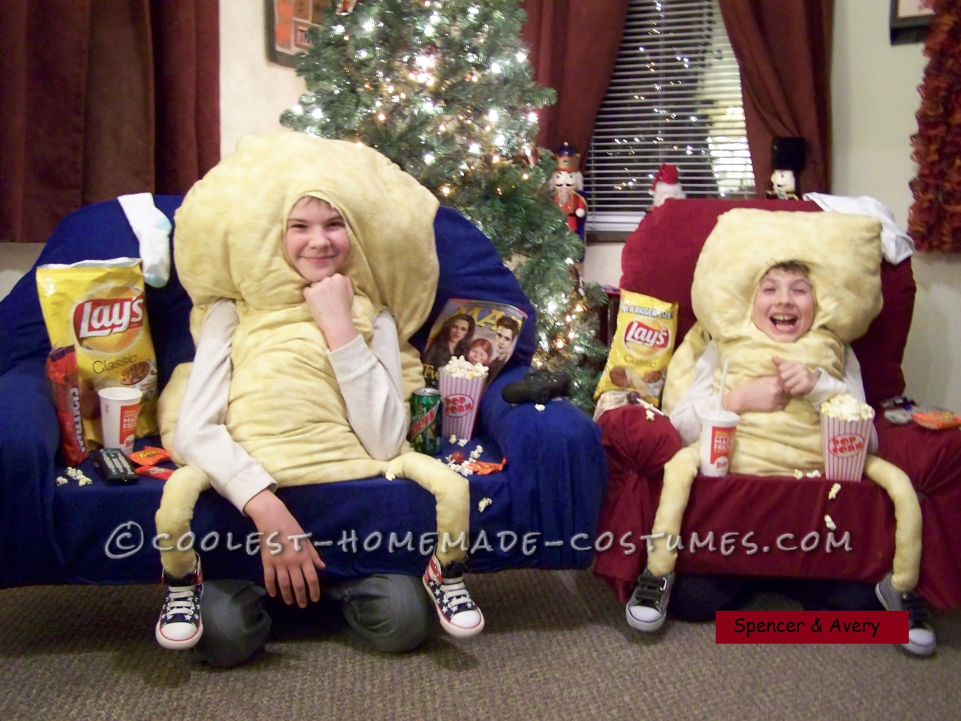 Coolest Couch Potato Costumes | Halloween costume contest, Costume ...