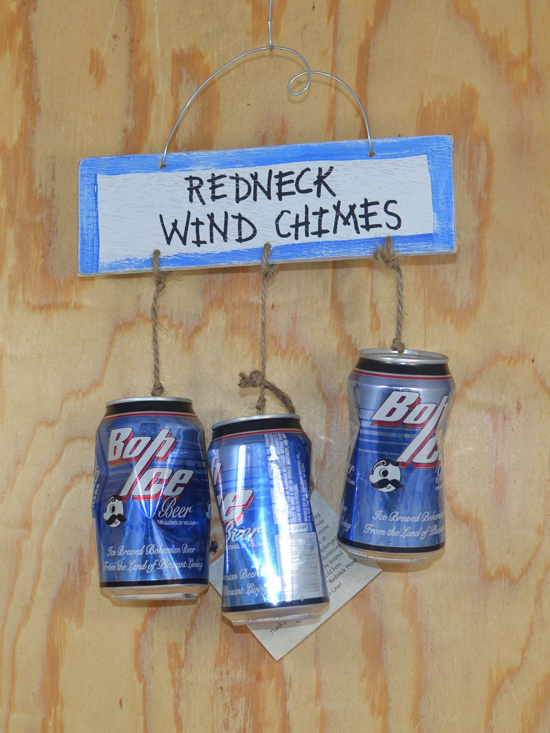 redneck wind chimes need to make this for my brother