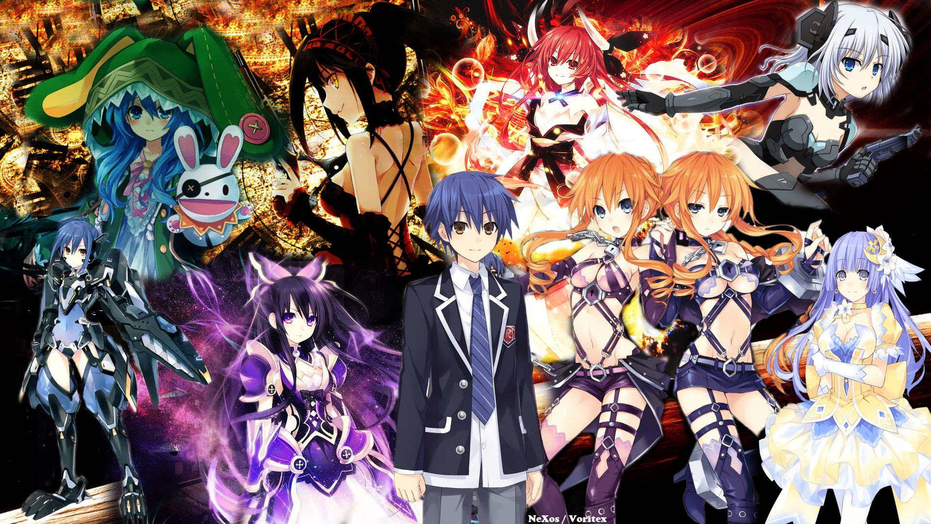 Wallpapers Date A Live X