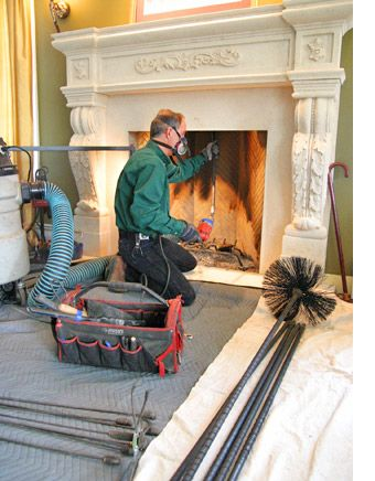 Certified Chimney Sweep House Cleaning Services Clean House