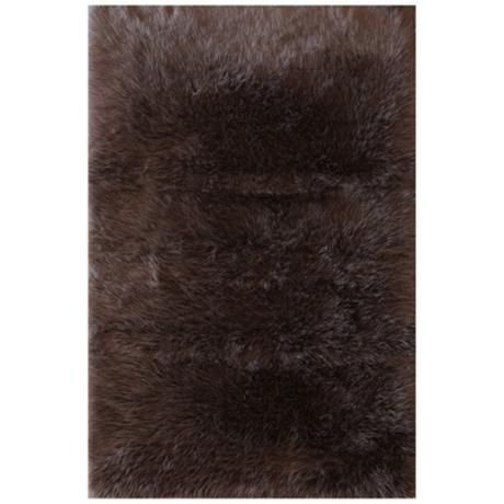 Best Chocolate Fur Rug Cool Rugs Rugs Loloi Rugs 400 x 300