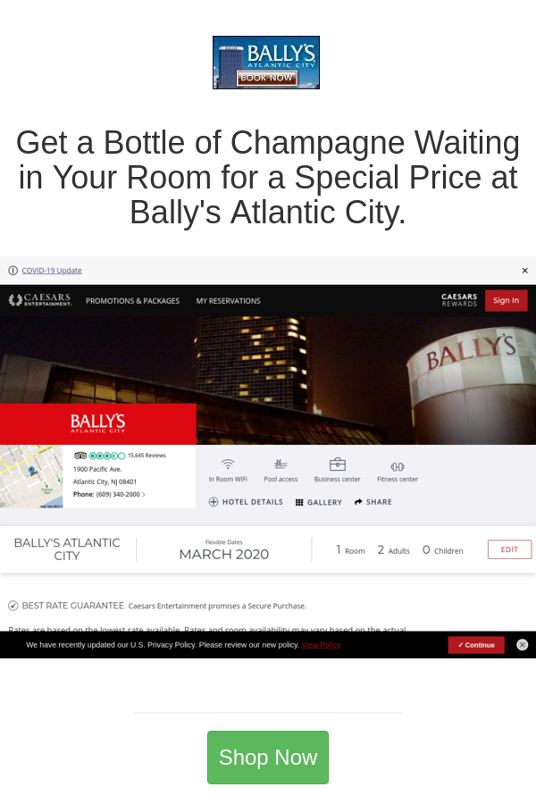 Best Deals And Coupons For Bally S Atlantic City In 2020 Atlantic City Bally Atlantic