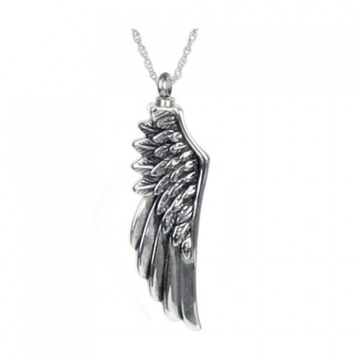Angel wing ash pendant angel wings ash and angel angel wing ash pendant aloadofball Images