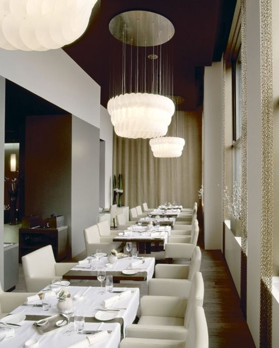 Iria Degen Interiors Jasper Restaurant  Love the color palette and     Iria Degen Interiors Jasper Restaurant  Love the color palette and  chandeliers