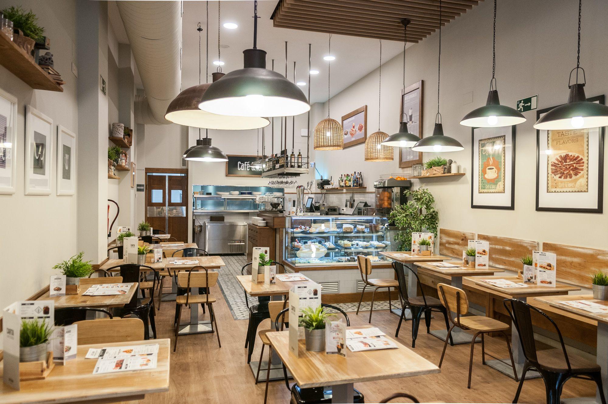 Cafe Y Tapas San Jacinto Sevilla Bar Design Cafe Design