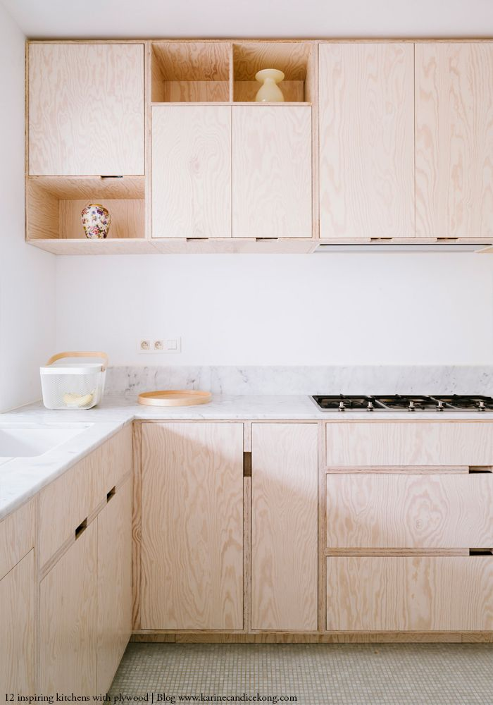 How To Create A Stunning Kitchen With Plywood Kitchen Pinterest