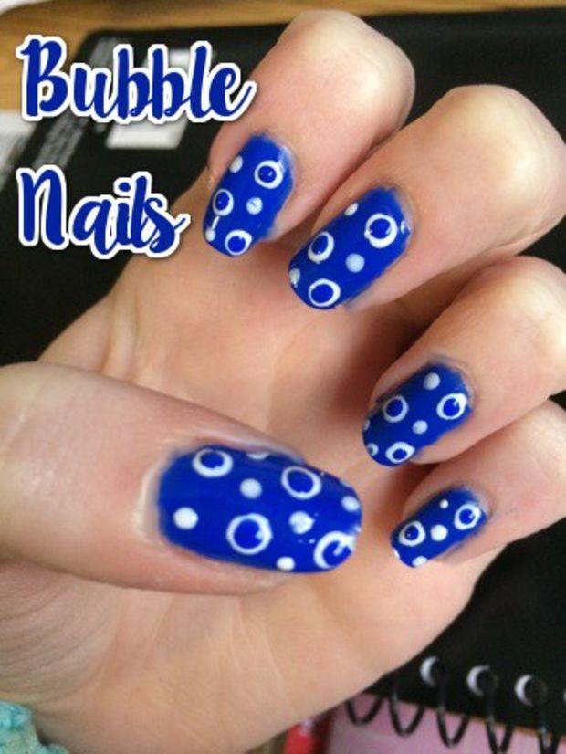 Nail Art Tutorial: Bubble Nails - Nail Art Tutorial: Bubble Nails Bubble Nails And Art Tutorials